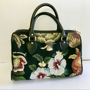 Vintage Carpet Floral Bag